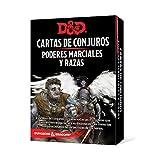 Dungeons & Dragons Poderes Marciales y Razas-Cartas de Conjuro Castellano, Color (Edge Entertainment EEWCDD85)