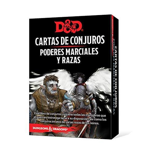 Dungeons & Dragons Poderes Marciales y Razas Cartas de Conjuro Castellano, Color (  EEWCDD85)