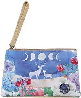 WOO LANDO Tasche mit Motiv & Trageschlaufe für Mädchen und Damen, feines Innenfutter, 16,5x11cm