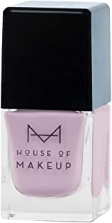 House of Makeup Matte Nail Polish - Pastel Purple, Velvet Smooth Long Lasting Nail Paint with Quick Dry Finish - Charoite Colour (12ml)