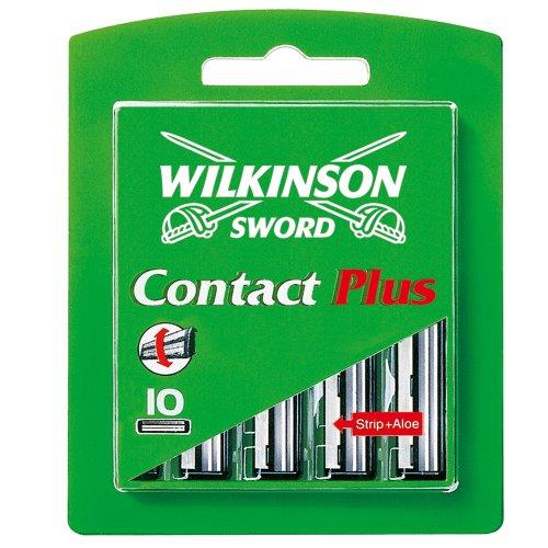 Wilkinson Sword Contact Plus Rasierklingen für Herren Rasierer 10 St