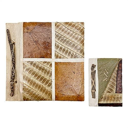 Album de Fotos 10x15cm Scrapbook Original Personalizable Hecho con Materiales Ecologicos, Ideal para Sorpresas y Recuerdos Bonitos (Comunion, Cumpleaños, Aniversario, Bautizo) con Libreta Pequeña