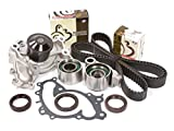 Evergreen TBK257AWPT Compatible With 01-08 3.0 3.3 Lexus ES330 RX330 Toyota 1MZFE 3MZFE Timing Belt Kit Water Pump