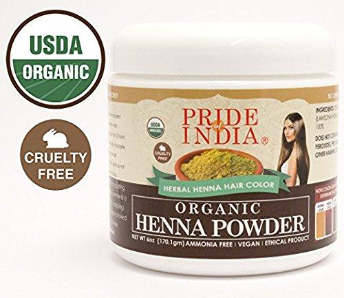 Henna Hair Powder Organic Henna Hair Powder, Half Pound