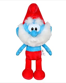 Smurfs Papa Smurf, Stuffed Animals Plush Toy Cute Gift for Kids Room Decoration 15