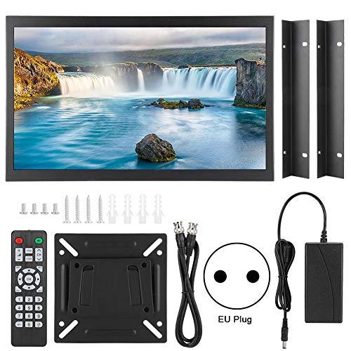 ASHATA 17,3 inch scherm capacitief touchscreen 1920 x 1080 metaal ingebedde industriële monitor 100-240 V, EU-stekker.