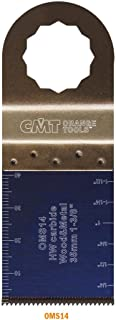 CMT OMS14-X1 Plunge & Flush-Cut Blade For Wood & Metal Fit Fein Supercut Festool Vecturo Extra Long Life Quick Release Oscillator Multicutter,