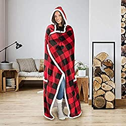 best top rated wearable hooded blanket 2021 in usa