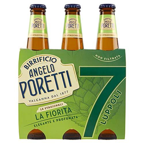 Birrificio Angelo Poretti 7 Luppoli Non Filtrata la Fiorita - Pacco da 3 X 0.33 L