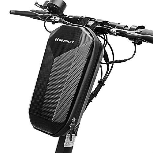 WOZINSKY Tasche für Roller, Rollertasche Front Tube Bag Groß Lenkertasche Wasserfest, Vordertasche für Elektroroller Xiaomi MI Mijia M365 4L
