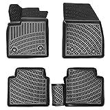 SHSYO alfombras Coche para Fiat Marea 1996-2002 3D Totalmente Apto de Goma térmica para Todo Tipo de Clima Alfombrilla para el Suelo del Coche
