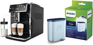 SAECO Xelsis SM7580/00 machine espresso super automatique noir laqué & Philips Filtre à Eau et à calcaire CA6903/10