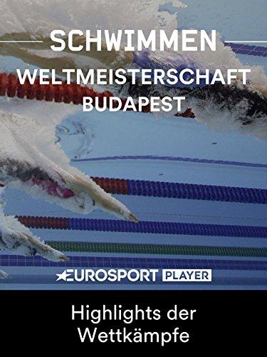 FINA Schwimm-WM in Budapest (HUN) - Highlights der Wettkämpfe