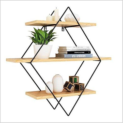 Shelves Duo Boekenkast, wandplanken, 3 houten planken, boekenrekken, fotodisplay, Home Storage, decoratie voor slaapkamer, woonkamer, keuken, kantoor