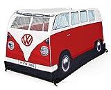 Volkswagen Bulli Juegos de tienda de campaña para Rojo para Niños (77cm de alto)
