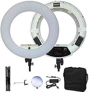 Yidoblo Dimmable Bi-Color LED Ring Light Kit FS-480II for Makeup Portrait Selfie YouTube Video Photo Studio Lighting with ...