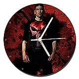 MasTazas The Punisher Jon Bernthal Horloge Murale Wall Clock 20cm