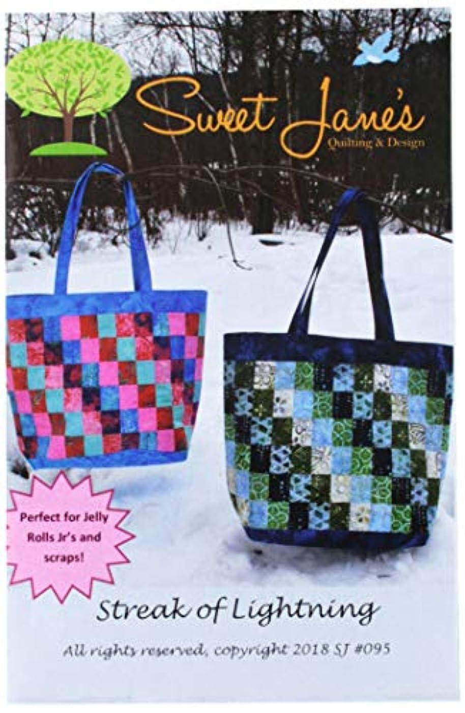 Sweet Jane's Quilting & Design SJ095 Streak of Lightening Pattern