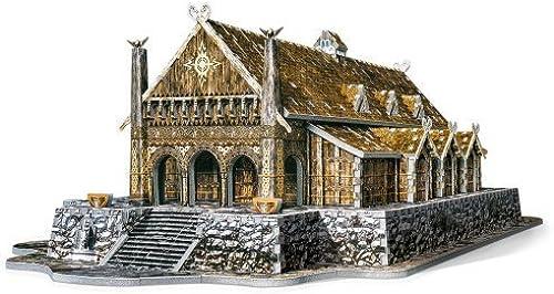 disfrutando de sus compras WREBBIT 3D oroen Hall Edoras Lord of The The The Rings Puzzle, 742-Piece by WREBBIT 3D  saludable