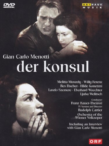 Menotti, Gian Carlo - Der Konsul