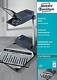 Avery Dennsion Zweckform 3555 Films transparents pour rétroprojecteur A4 100...