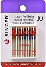 SINGER Machine Needle, 10-Count, Size 11, 14, 16 10/Pkg, 10 Count