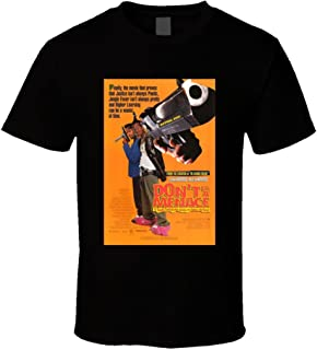 Don't Be A Menace to South Central Cool 90's Comedy Vintage Classic Movie Poster Fan T Shirt