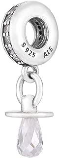 Pandora 791890CZ Silver Pacifier Charm