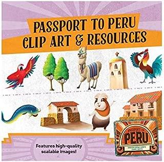 Passport to Peru Clip Art & Resources CD (Group Cross Culture Vbs 2017)