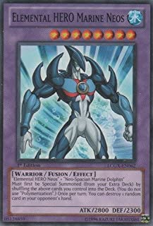 Yu-Gi-Oh! - Elemental HERO Marine Neos (LCGX-EN062) - Legendary Collection 2 - 1st Edition - Common by Yu-Gi-Oh!