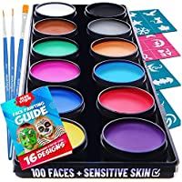 Blue Squid Face Paint Kit for Kids