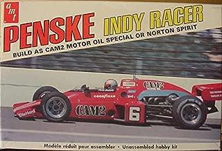 AMT #T261 #6 Cam 2/Norton Spirit Mario Andretti Penske Indy Racer 1:25 Scale Plastic Model Kit NEEDS ASSEMBLY
