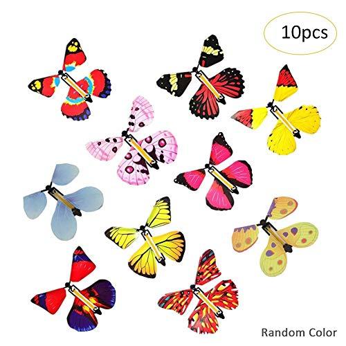 Coseyil Magic Flying Butterfly Fliegender Schmetterling Überraschung Geschenk Für Hochzeit Geburtstagsgeschenk Lustige Spielzeug Für Kinder