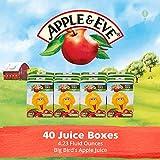 Apple & Eve Sesame Street Big Bird's Apple Juice, 4.23 Fluid-oz, 8 Count, Pack of 5