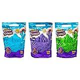 KINETIC SAND - RECHARGE COULEUR 900 G de sable - Sable Cinétique et Coloré - Alternative Pâte à Modeler - JOUET ENFANT 3 ANS ET + - 6046035 - Loisirs Créatifs- coloris aléatoires