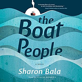 The Boat People                   Written by:                                                                                                                                 Sharon Bala                               Narrated by:                                                                                                                                 Athena Karkanis                      Length: 13 hrs and 23 mins     153 ratings     Overall 4.5