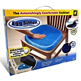 BulbHead Egg Sitter Seat Cushion with Non-Slip Cover, Breathable Honeycomb Design Absorbs Press…