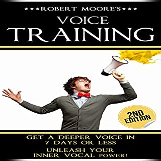 Voice Training audiobook cover art