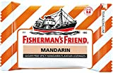 Fisherman's Friend Sugar Free Refreshing Spicy Mandarin Flavor Cough Lozenges, 25g pack, (Pack of 12)