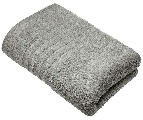 Lashuma Premium sábana de Sauna Gris Piedra, Toalla de baño 85x220 cm, London Toalla Grande de Rizo