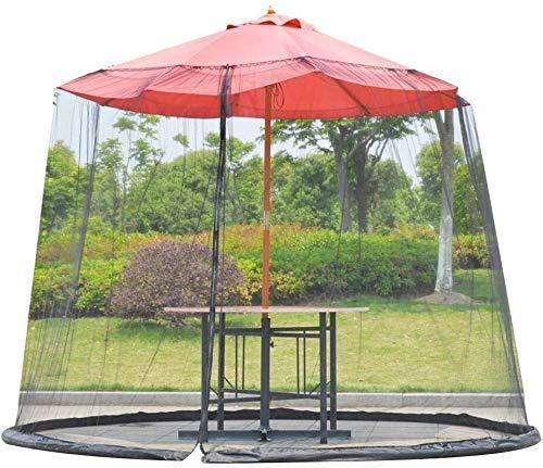 kyman Paraguas de jardín al Aire Libre Su sombrilla en un Mirador Ligero y portátil Mosquito de mosquitera de Paraguas (Tamaño: 230 * 275cm) (Size : 230 * 335cm)