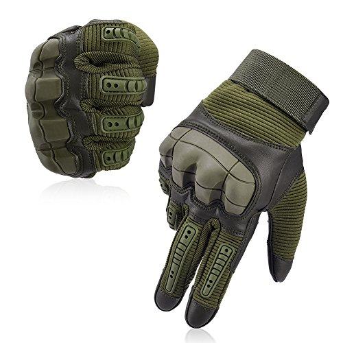 Vbiger Taktische Handschuhe Sport Handschuhe Fahrradhandschuhe Touchscreen Handschuhe Motorrad Handschuhe Outdoor Handschuhe für Radfahren, L