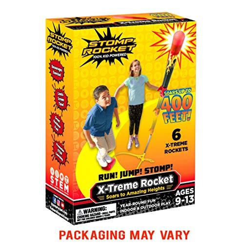 Stomp Rocket 365040 X-Treme, 6 Rockets - Druckluftrakete