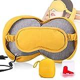 Yofuly Masque USB pour soulager le stress oculaire, traitement thérapeutique chaud pour les yeux secs, soulager la fatigue et soulager les douleurs