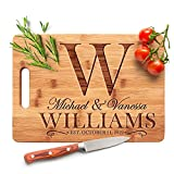 Personalized Cutting Board - 9 Design & 3 Size Options, Bamboo Cutting...