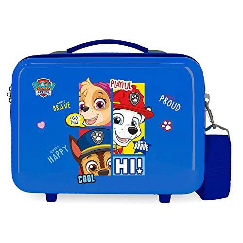 Patrulla Canina Paw Patrol Playful Neceser Adaptable Rosa 29x21x15 cms Rígida ABS 9,14L