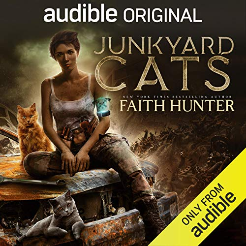 Junkyard Cats audiobook cover art