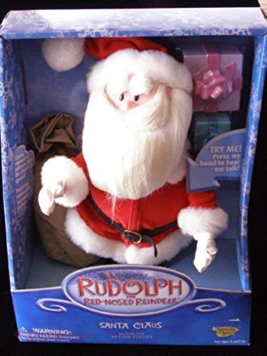 tienda en linea Rudolph the rojo Nose Reindeer Santa Claus Ultimate Action Action Action Figure with Free Rudoph Figure by Playing Mantis  precioso