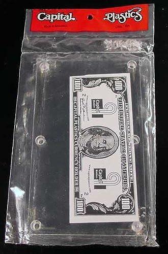 precio mas barato Modern Currency Currency Currency Bill Holder by Capital Plastics Modern Currency Bill Holder  100% precio garantizado