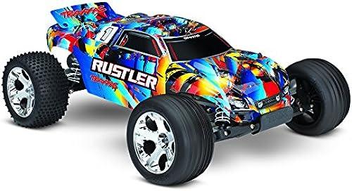 Traxxas Rustler ARTR ohne Akku Lader TRX37054-4